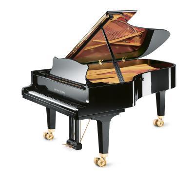 GROTRIAN-STEINWEG Piano à queue Concert 225 noir brillant CONCERT