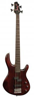 Guitare CORT Action Basse Passive 4BK/WS