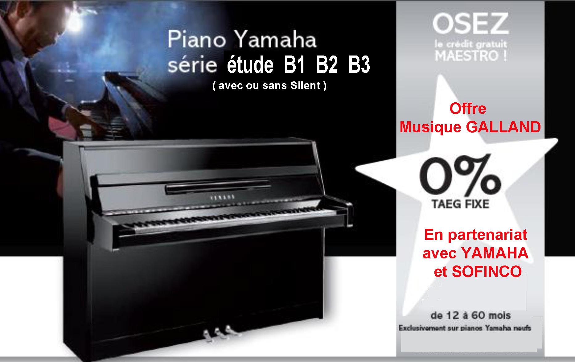 Credit gratuit piano