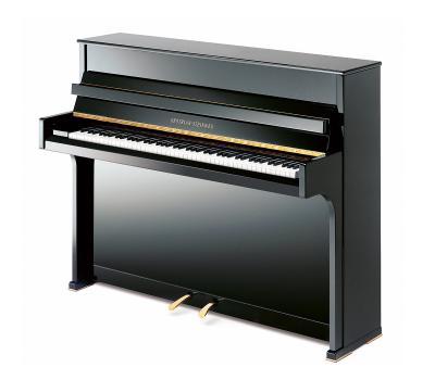 GROTRIAN-STEINWEG modèle CRISTAL-112 noir brillant