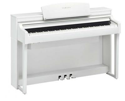 YAMAHA numérique arrangeur CSP170 blanc + touches bois