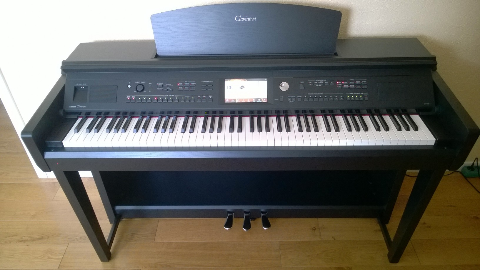 Cvp705 b yamaha en noir for Yamaha clavinova cvp 705