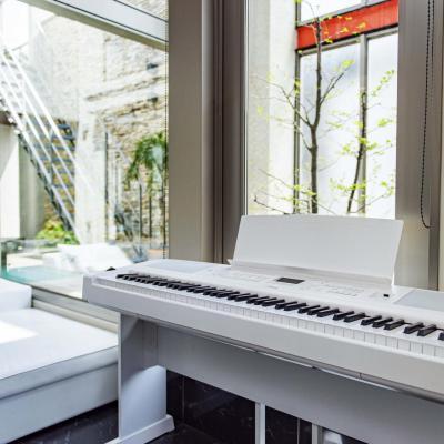 YAMAHA numérique arrangeur DGX-670 blanc