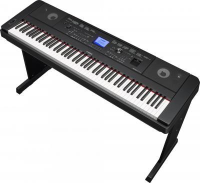 YAMAHA DGX-660B  numérique arrangeur noir