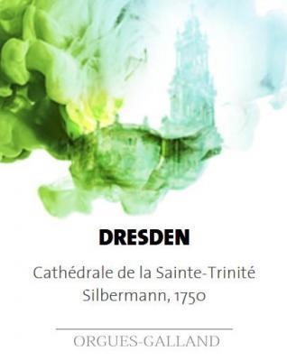 DRESDEN:  Cathédrale Ste Trinité ECHANTILLONS