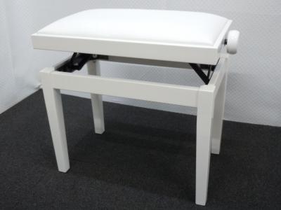 HIDRAU CLASSIC-27BBSK banquette :Blanc BRILLANT - SKAI blanc