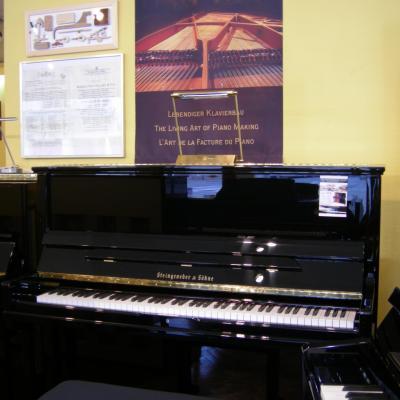 Piano neuf Steingraeber & Söhne CONCERT-130T-PS noir brillant