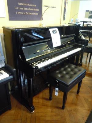 SAUTER piano droit CONCERT 122-MEISTERKLASSE noir brillant