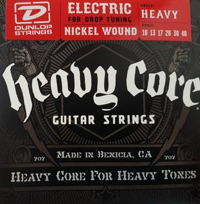 DUNLOP 10-48  HEAVY core - Jeu de cordes pour guitare électrique
