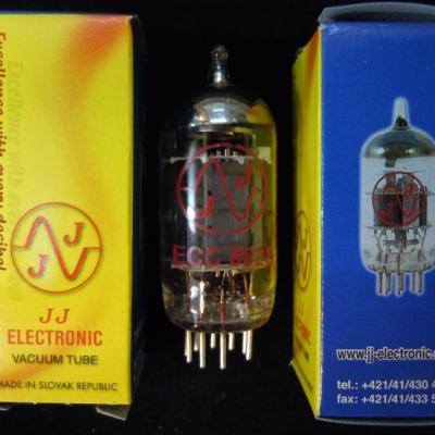 ECC802S JJ-ELECTRONIC Lampe Tube ( 12AU7 Gold )