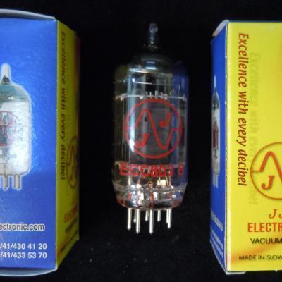 ECC803S JJ-ELECTRONIC Lampe Tube ( équiv ECC83 / 12AX7 prestige )
