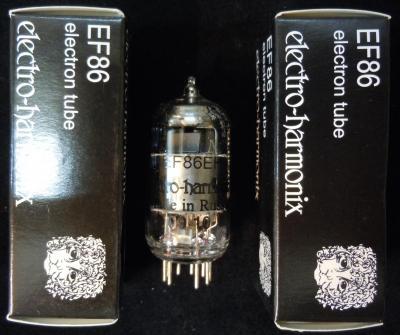 EF86 Electro-Harmonix Lampe Tube
