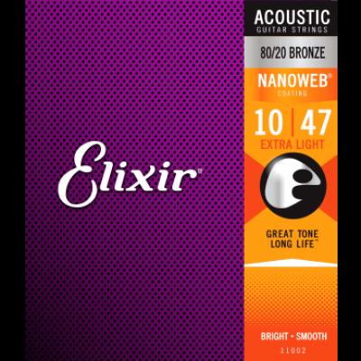 ELIXIR BRONZE 80/20 10-47