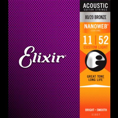 ELIXIR BRONZE 80/20 11-52