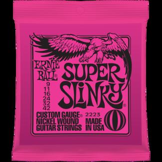 ERNIE-BALL 09-42 SUPER-LIGHT jeu de cordes ELECTRIQUE  Super Slinky