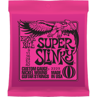 ERNIE-BALL 09-42 SUPER-LIGHT jeu de cordes ELECTRIQUE  Super Slinky