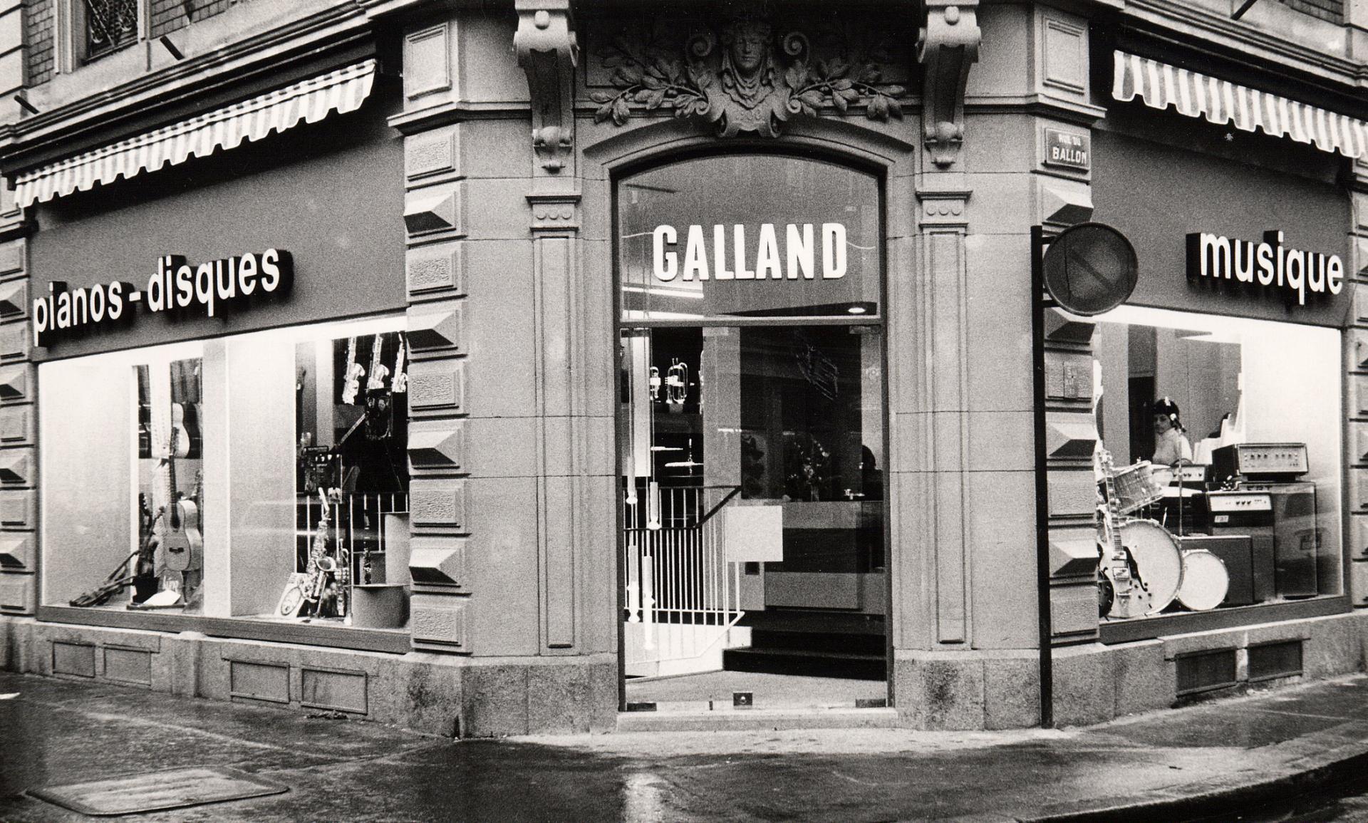 Facade magasin49 en 1970
