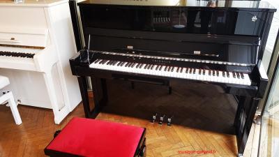 FRIDOLIN - Schimmel  piano droit F116T-TWINTONE ( casque ) finition Chrome  (Disponible)