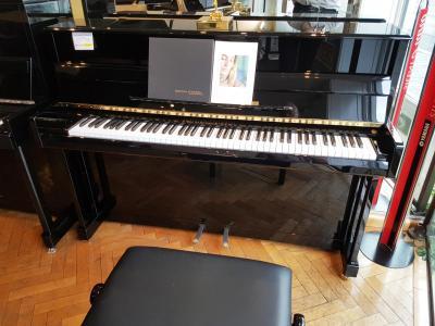 GROTRIAN-STEINWEG piano droit  neuf FRIEDRICH-GROTRIAN 111 cm Tradition  noir brillant