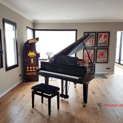 Piano à  queue YAMAHA GB1-SC2 SILENT noir 151cm (Disponible)
