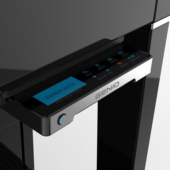 Genio basic premium piano silencer system 3