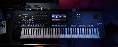 Clavier YAMAHA GENOS Professionnel 76 notes