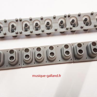 RUBBER octave / 2 contacts GLKW8167 KAWAI  pour piano numérique