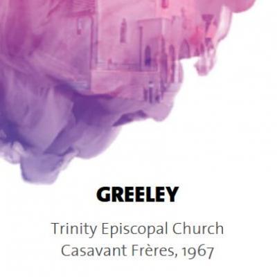 GREELEY : Eglise Episcopale de la TRINITE /  ECHANTILLONS