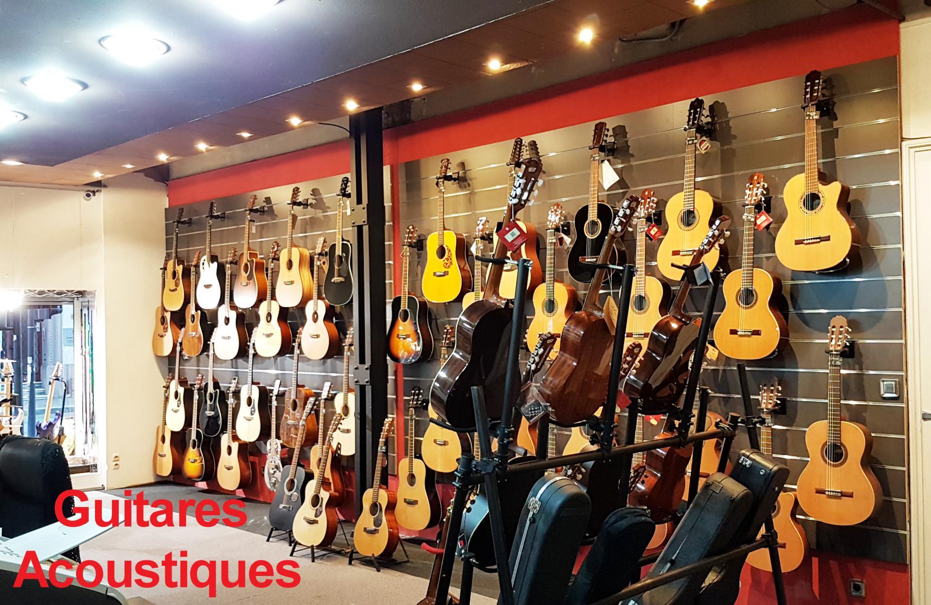 Guitares acoustiques 1