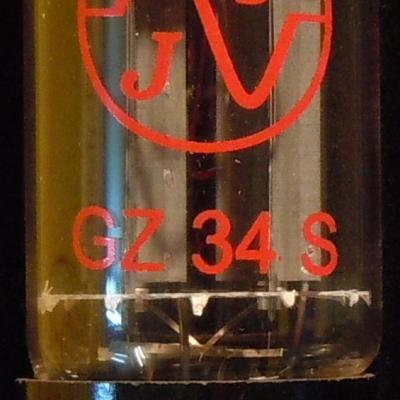 GZ34 JJ-Electronic  lampe Tube Redresseur