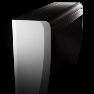H7 blanc fond noir