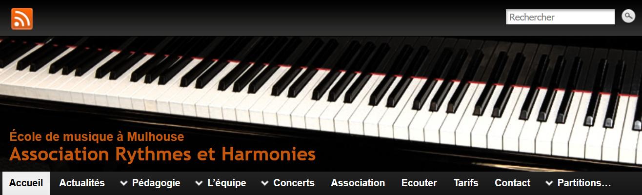 ECOLE de MUSIQUE : MULHOUSE - Rythmes et Harmonies