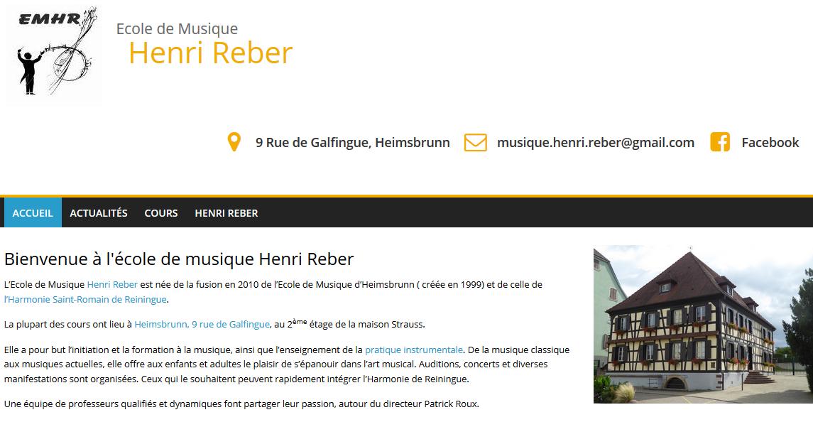 ECOLE de MUSIQUE : Heimsbrunn