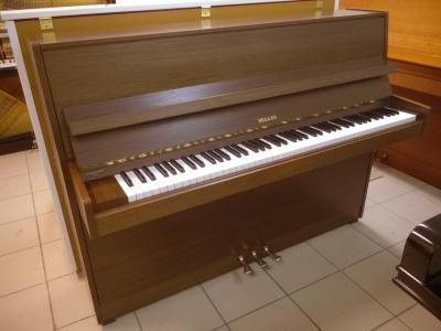 Piano d'occasion  HELLAS noyer satiné 108 cm