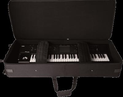 137cm x 38cm x 15cm  Housse de transport PRO avec roulettes pour clavier 88 notes  GK-88-SLIM GATOR