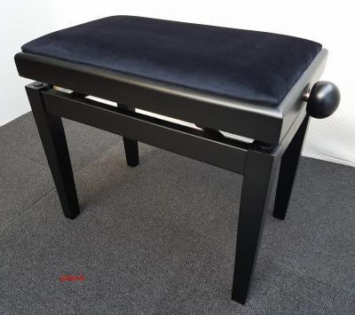 RONDO HM-RD-18NM-VN superbe banquette DESIGN Noir MAT - VELOURS noir