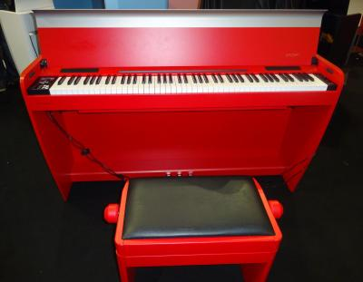 DEXIBELL VIVO-H7-RDP  piano numérique DESIGN  rouge BRILLANT