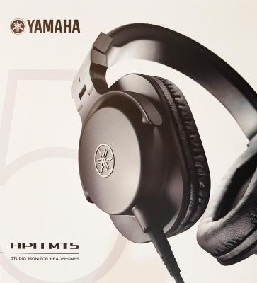 YAMAHA  HPH-MT5 noir - Casque professionnel