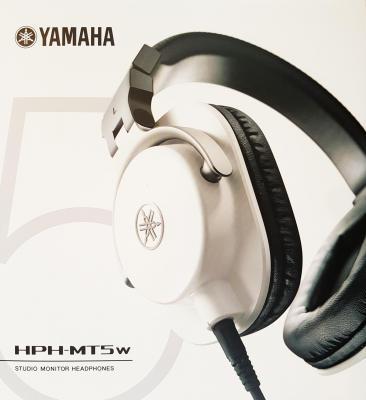 YAMAHA  HPH-MT5W blanc - Casque professionnel