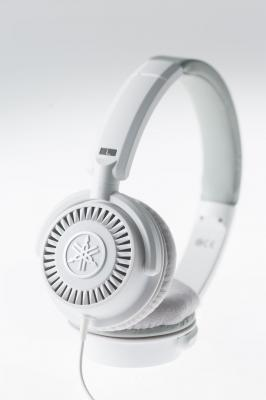 YAMAHA  HPH-150-W blanc casque ouvert