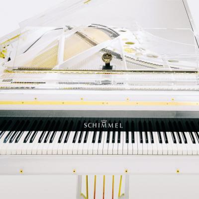 Piano à queue SCHIMMEL K-213-GLAS transparent