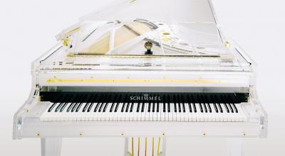 SCHIMMEL Konzert K-213 GLAS piano à queue transparent 213 cm