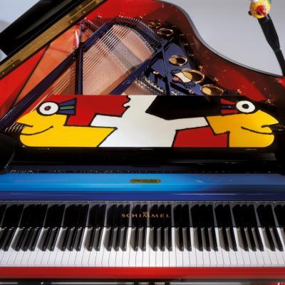 Piano à queue SCHIMMEL K-213 Otmar-Alt design