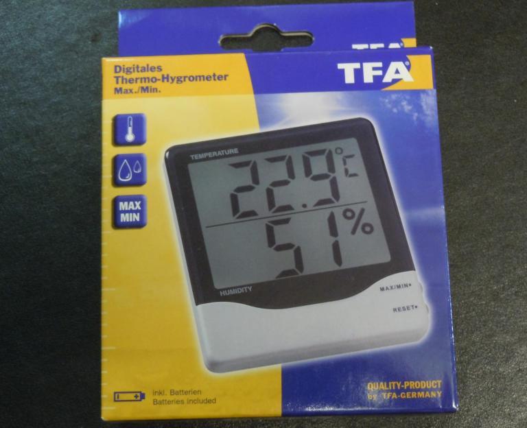 Hygrometre simple