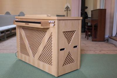 RIPIENO-CONTINUO orgue coffre à 1 clavier de 6 jeux MONARKE
