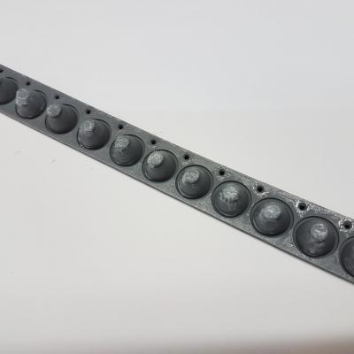 Pistons de compression RUBBER- octave 12 notes JOHANNUS pour clavier TP6