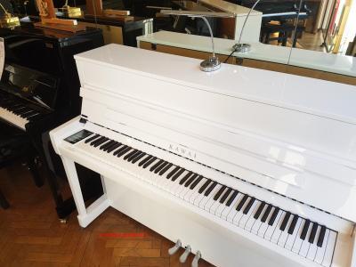 K200 ATX3-Silver piano traditionnel Blanc avec système casque