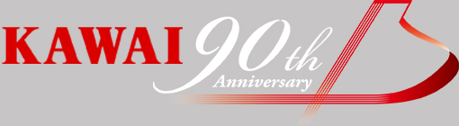 Kawai 90th logo