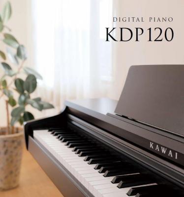 KAWAI numérique KDP-120-B noir mat (Disponible)