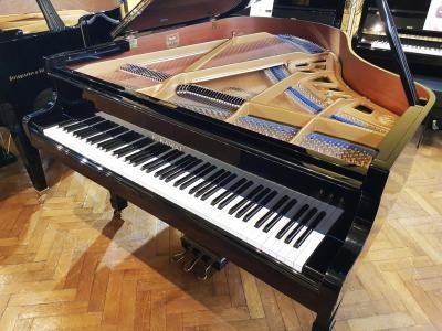 KAWAI piano à queue d'occasion KG2 178 cm noir brillant